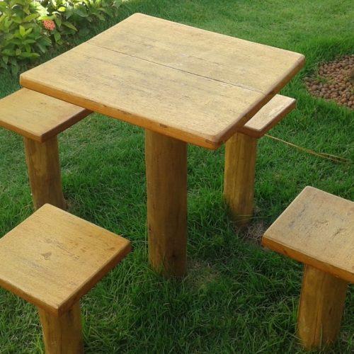 Mesas & Lixeiras